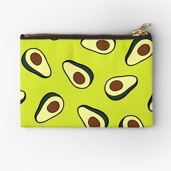Avocado Pattern Zipper Pouch