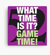 Ray Lewis (Baltimore Ravens) - Game Time! Canvas Print