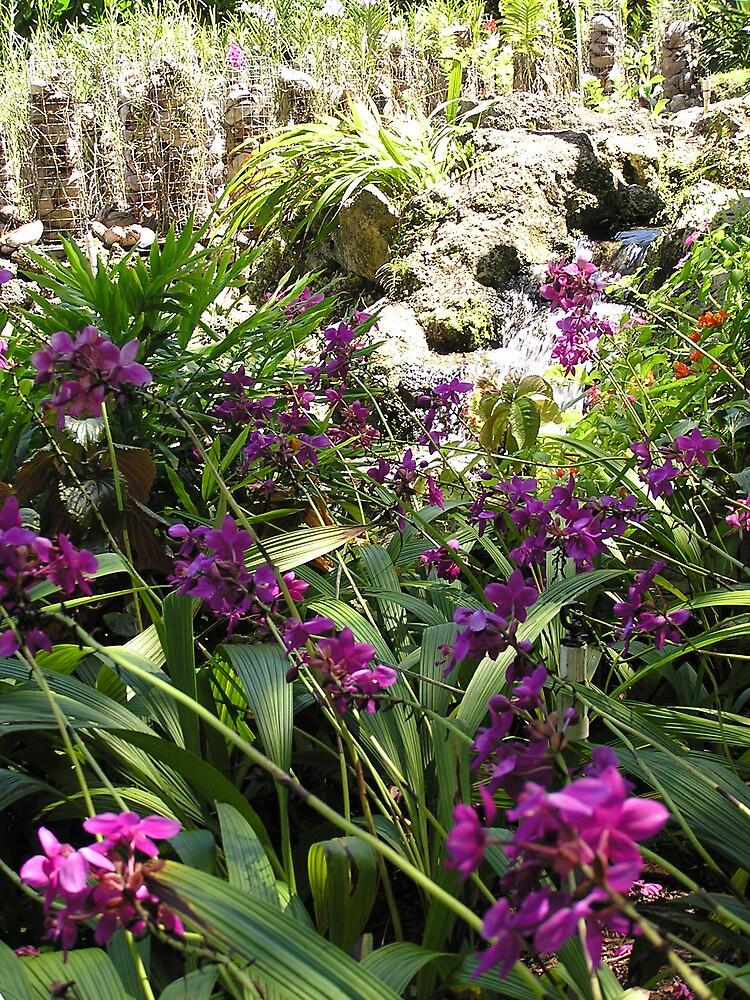 Barbados Flora 1 by Christine Frydenborg Dargon