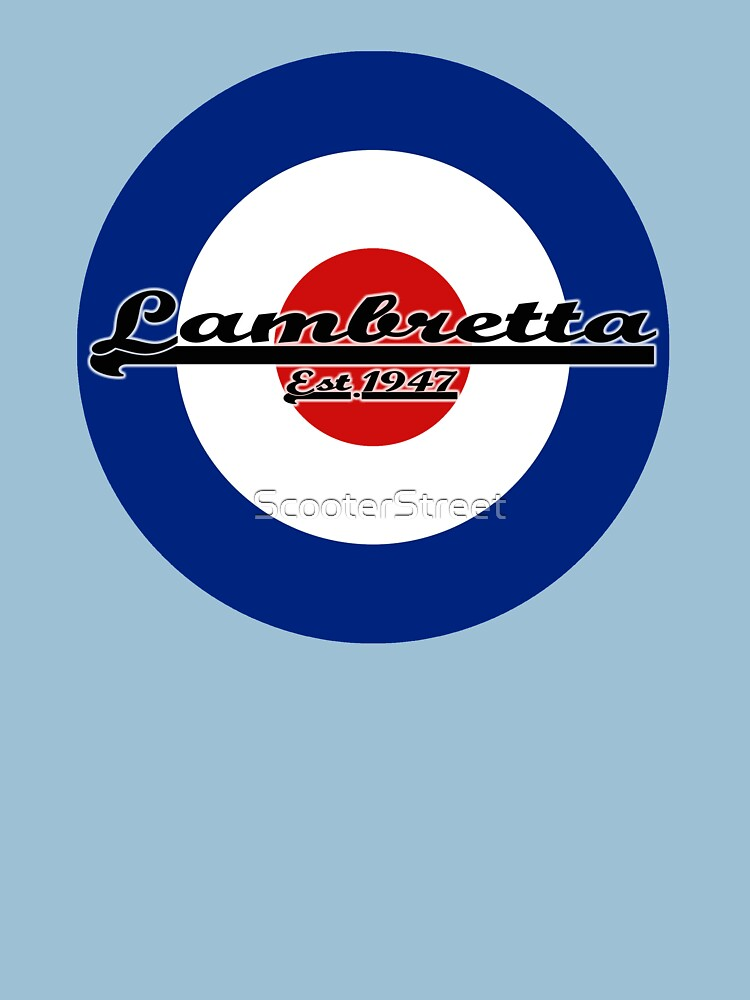 Team Lambretta MOD Target by ScooterStreet