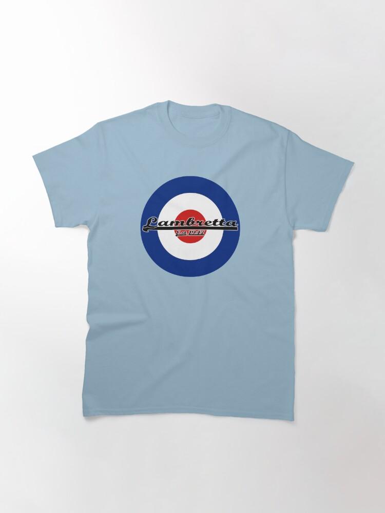 Alternate view of Team Lambretta MOD Target Classic T-Shirt
