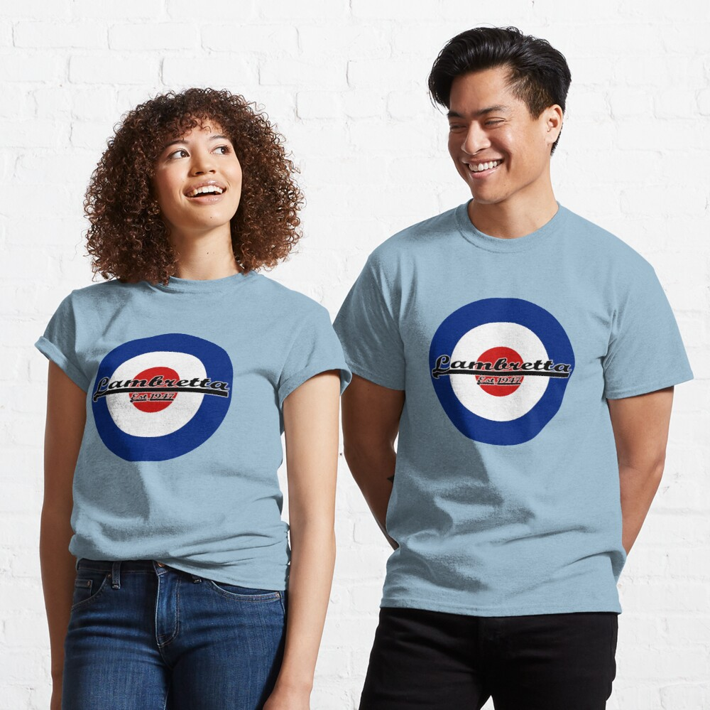 Team Lambretta MOD Target Classic T-Shirt