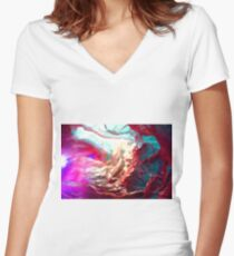 Paper vessels Women's Fitted V-Neck T-Shirt