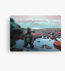 Rock Man Canvas Print