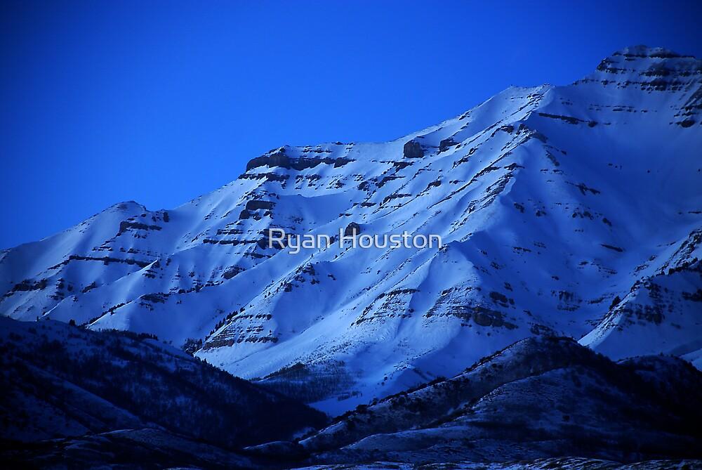 Mount Timpanogos from Orem by Ryan Houston