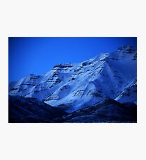 Mount Timpanogos from Orem Photographic Print