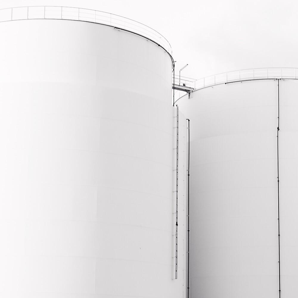 Oil Tanks by Ulf Buschmann