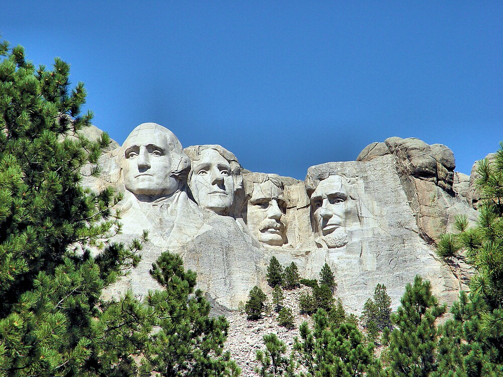Mount Rushmore by Jim  Grossi