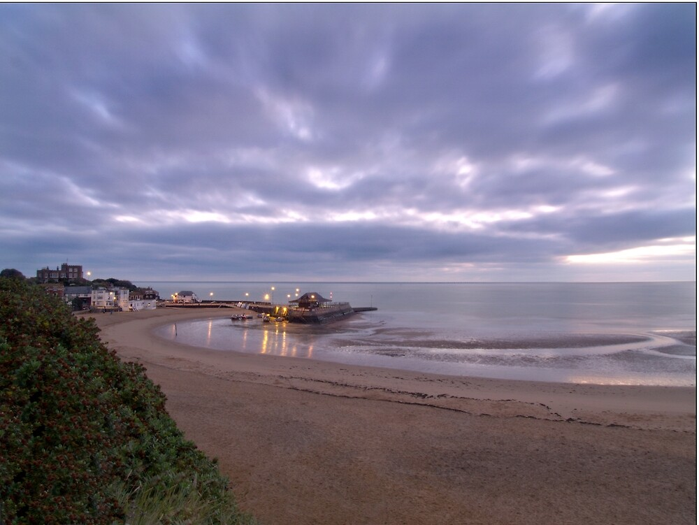 Stormy Broadstairs by Paul Tremble