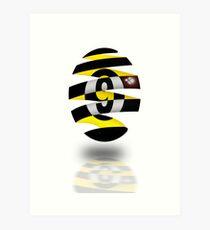 Odd Ball Art Print