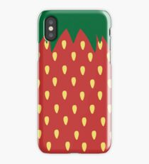 Strawberry Graphic iPhone Case/Skin
