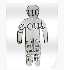 Evdokia Georgiou- Newspaper Cut- OUT Poster