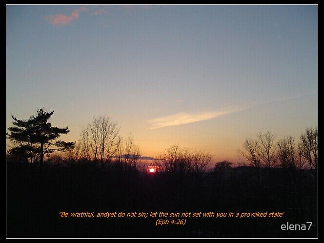 sunset by elena7