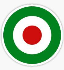 MOD Scooter Target - Italian Flag Sticker