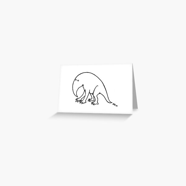 Schlubbi! Greeting Card