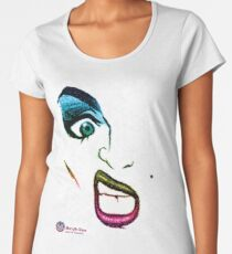 MARILYN SANE  - Birds Of Paradise - BOLD QUEENS Women's Premium T-Shirt