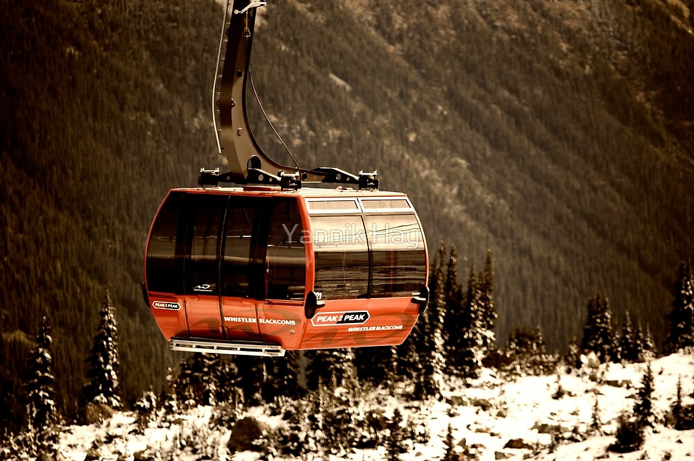 Peak to Peak Gondola - Whistler, BC by Yannik Hay