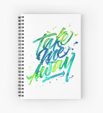 Take me Away Spiral Notebook