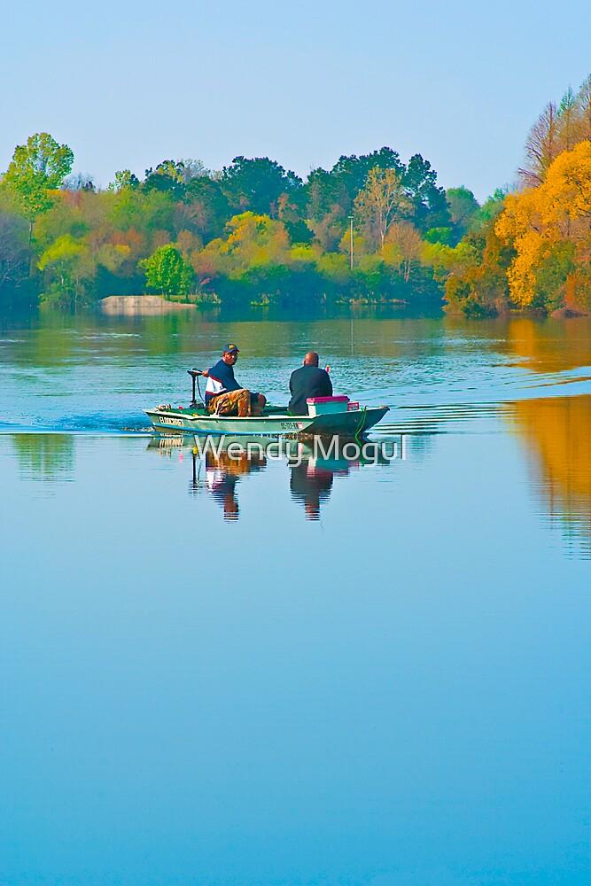 Morning Fisherman by Wendy Mogul