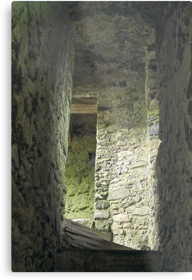 Lydford Castle ruin by SWEEPER