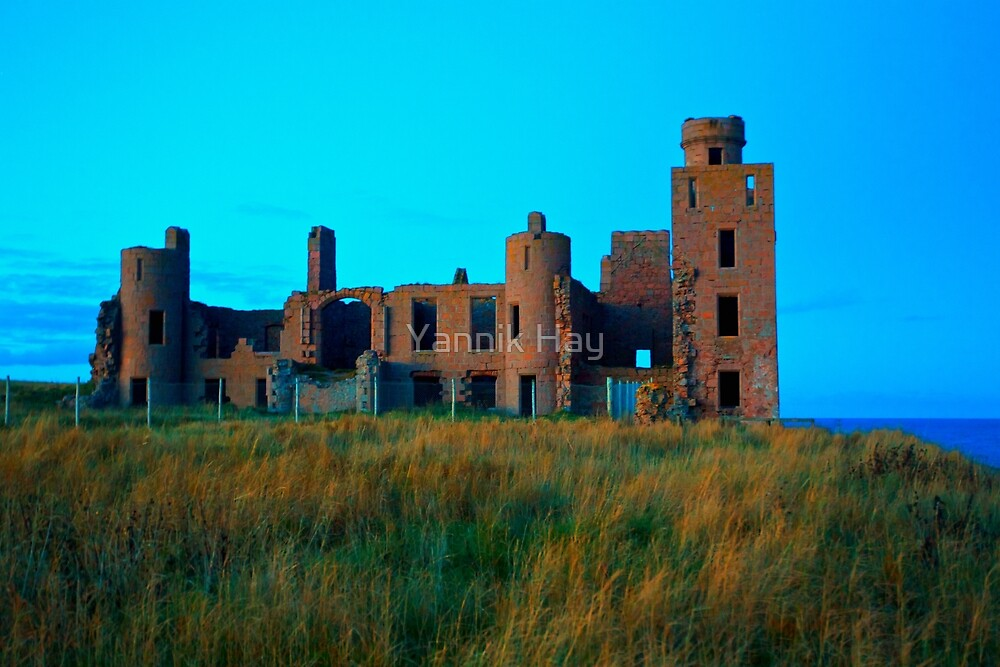 New Slains Castle (Cruden Bay, Aberdeenshire, Scotland) by Yannik Hay