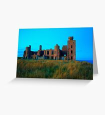 New Slains Castle (Cruden Bay, Aberdeenshire, Scotland) Greeting Card