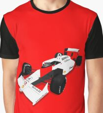 Formula 1 - McLaren MP4/4 - Ayrton Senna Graphic T-Shirt