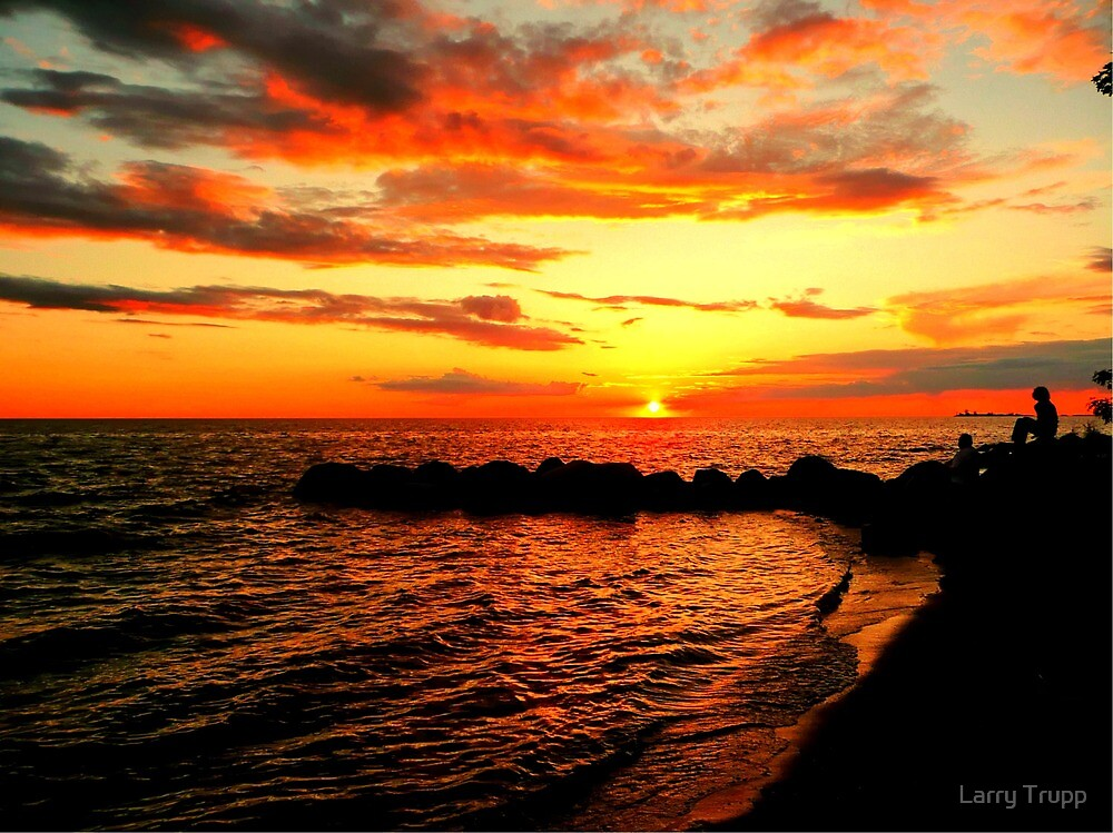 Just Beyond the Sunset by Larry Trupp