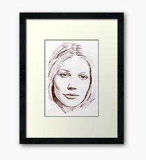 Gwyneth Paltrow Framed Print