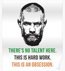Conor McGregor hard work T-shirt Poster