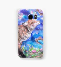 Fox in Blossom Samsung Galaxy Case/Skin