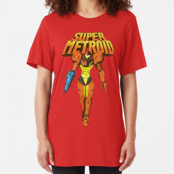 Super Metroid Camiseta ajustada