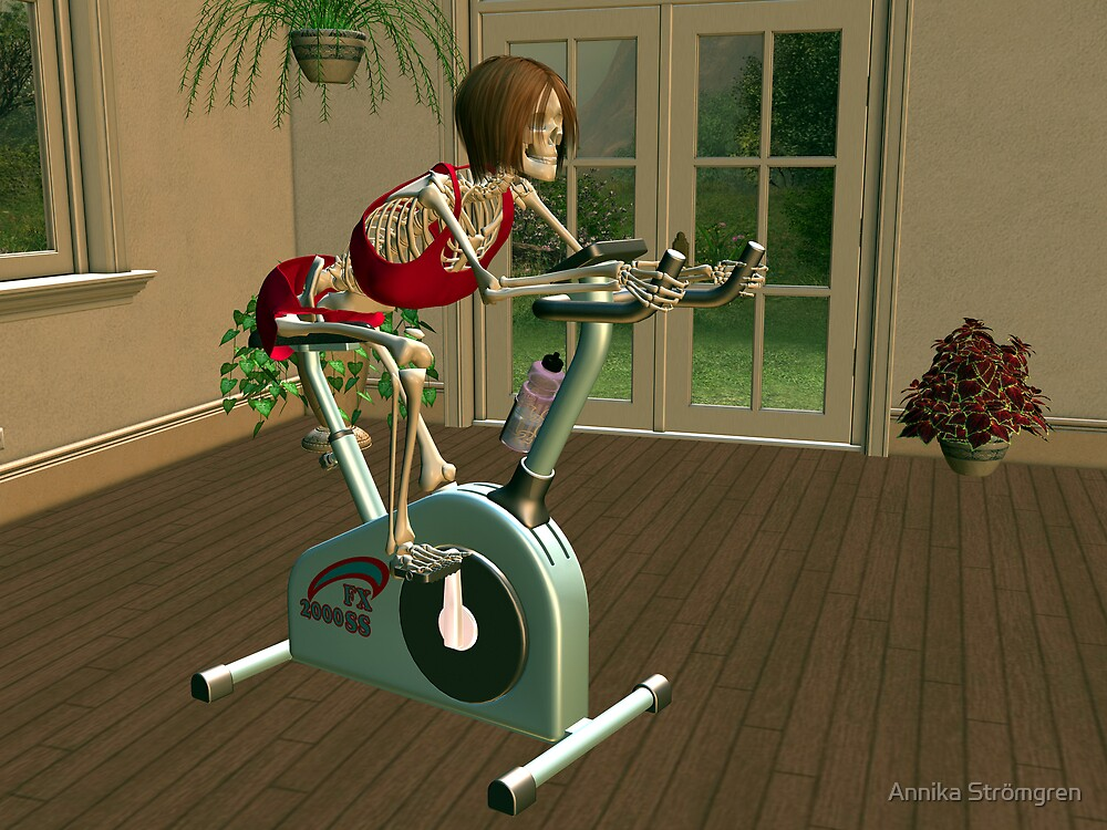 Too much exercise might kill you.... by Annika Strömgren