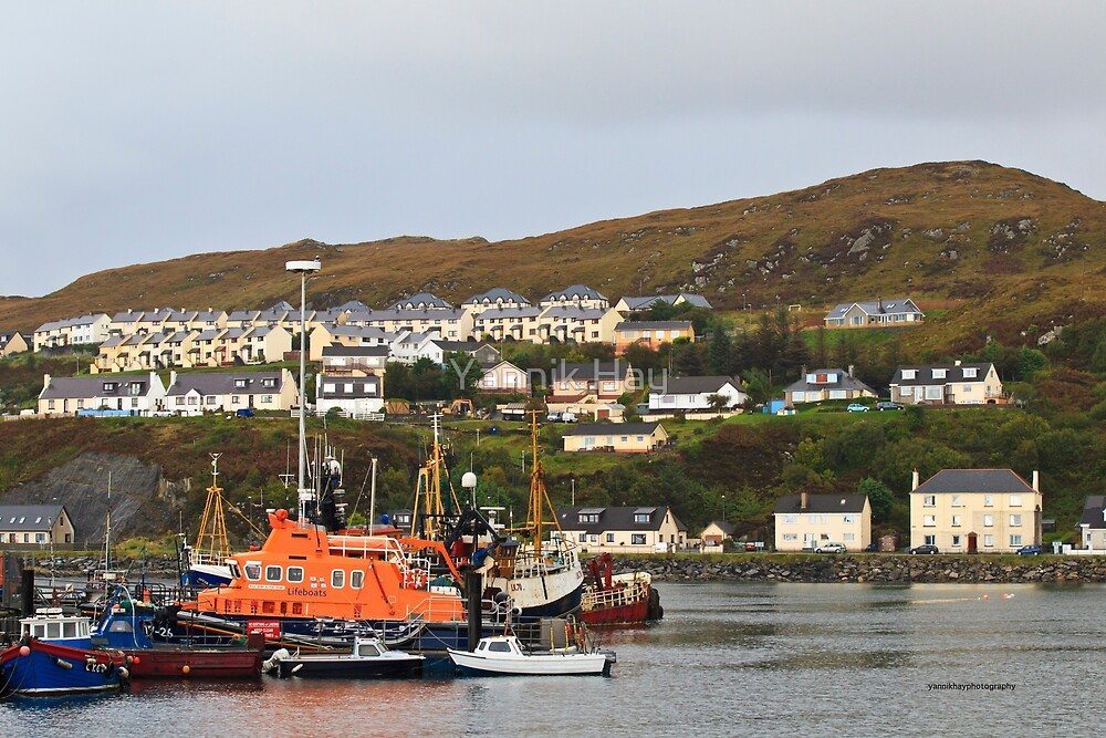 Mallaig Harbour by Yannik Hay