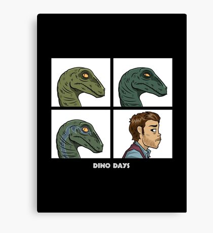Dino Days Canvas Print