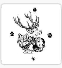 Four Friends - Mischief managed Sticker