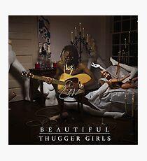 Lámina fotográfica Joven matón | Easy Breezy Beautiful Thugger Girls (EBBTG)