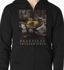 Young Thug | Easy Breezy Beautiful Thugger Girls (EBBTG) Zipped Hoodie