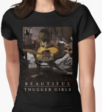 Young Thug | Easy Breezy Beautiful Thugger Girls (EBBTG) Womens Fitted T-Shirt