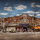 Dentist - The corner drugstore 1910 by Michael Savad