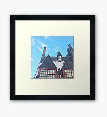 Hogsmeade Village Framed Print