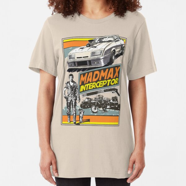 Mad Max V8 Interceptor Slim Fit T-Shirt