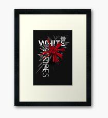 White Stripes Framed Print