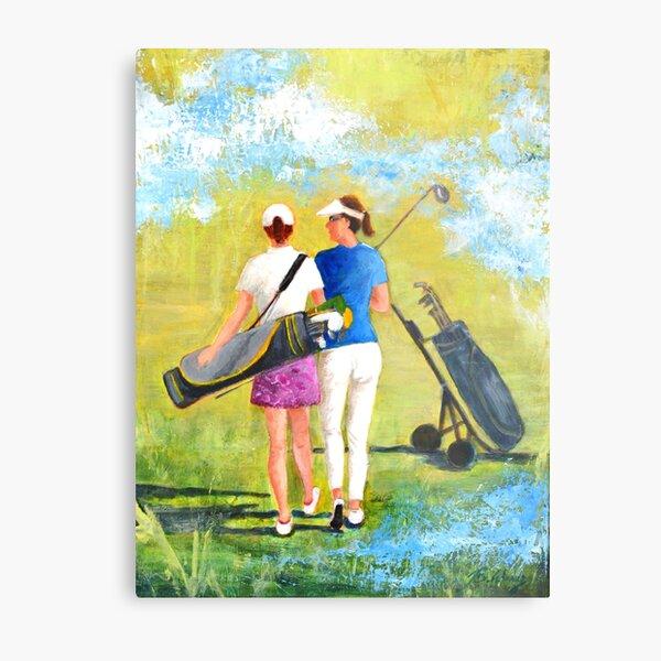 Golf buddies #1 Metal Print
