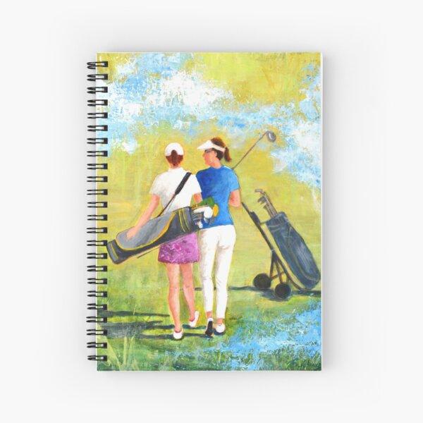 Golf buddies #1 Spiral Notebook