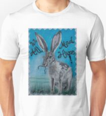 Mad Hare from Alice in Wonderland Unisex T-Shirt