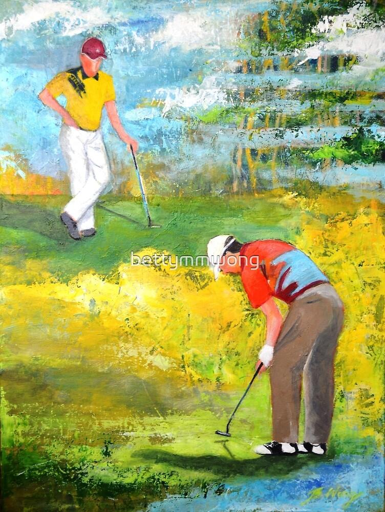Golf buddies #2 by bettymmwong