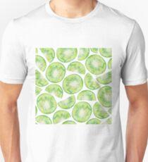 Kiwi Fruit Pattern Unisex T-Shirt