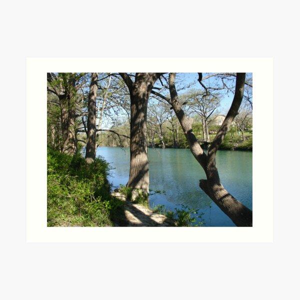 The Blanco River Art Print