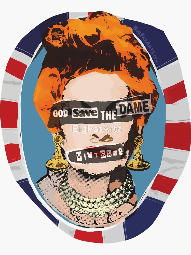 God Save The Dame by BigFatArts